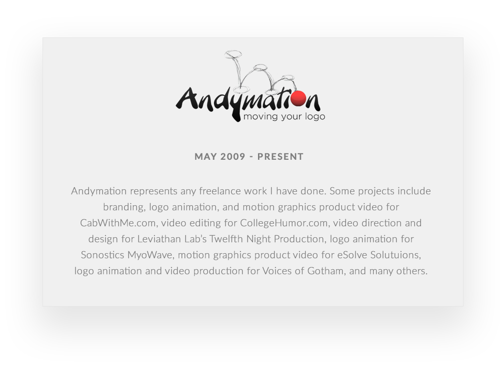 Andymation_Resume