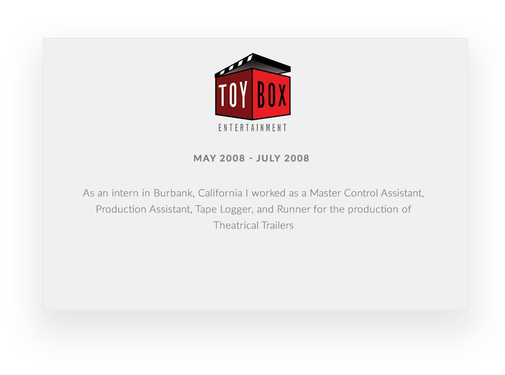 ToyBox_Resume